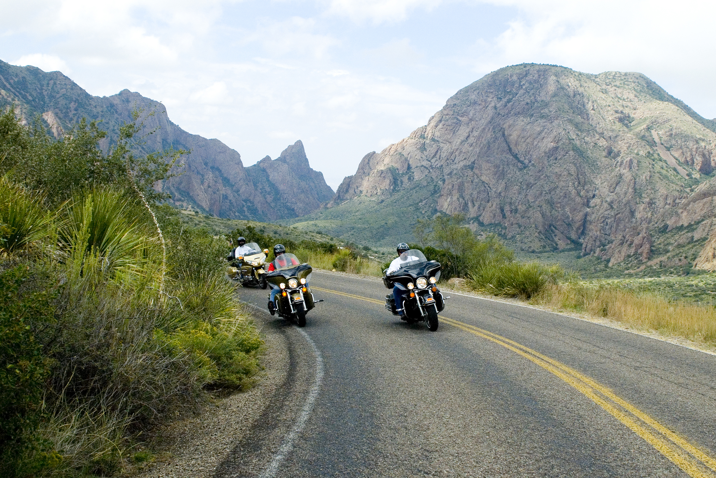 Motorcycles Visit Big Bend Guides For The Big Bend