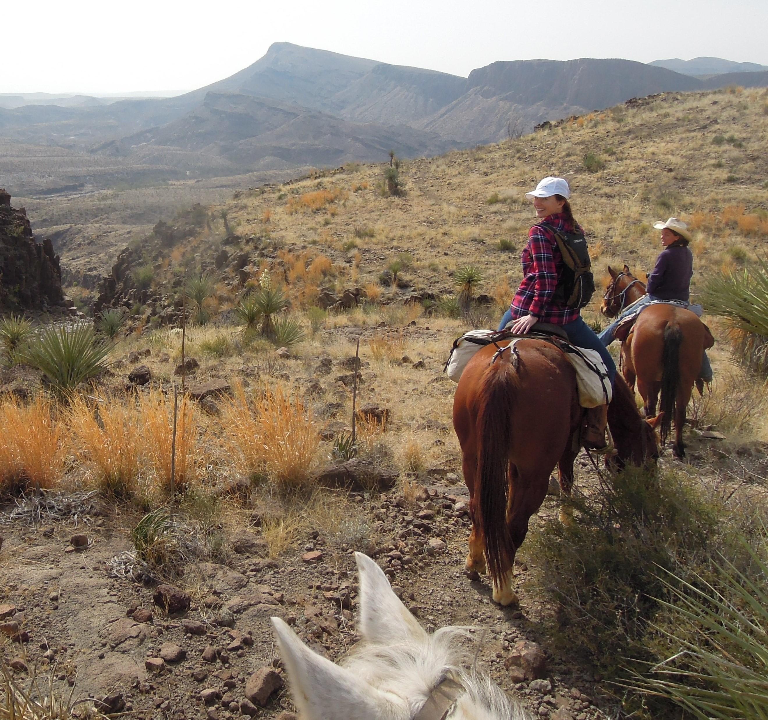 Horseback Riding - Visit Big Bend - Guides for the Big ...