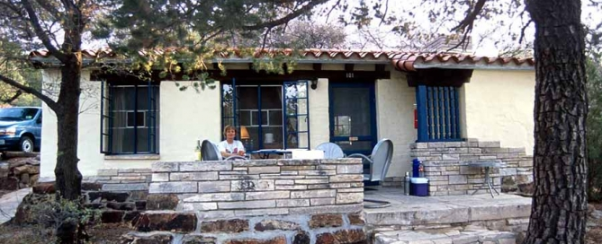 The Chisos Mountain Lodge