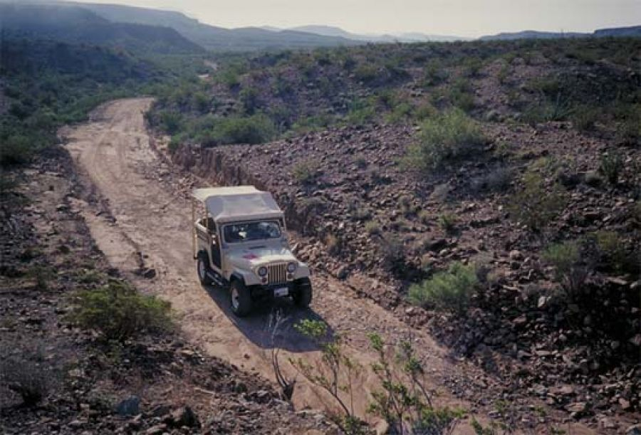 Vehicle tours visit big bend guides for the big bend for Atv parks in texas with cabins