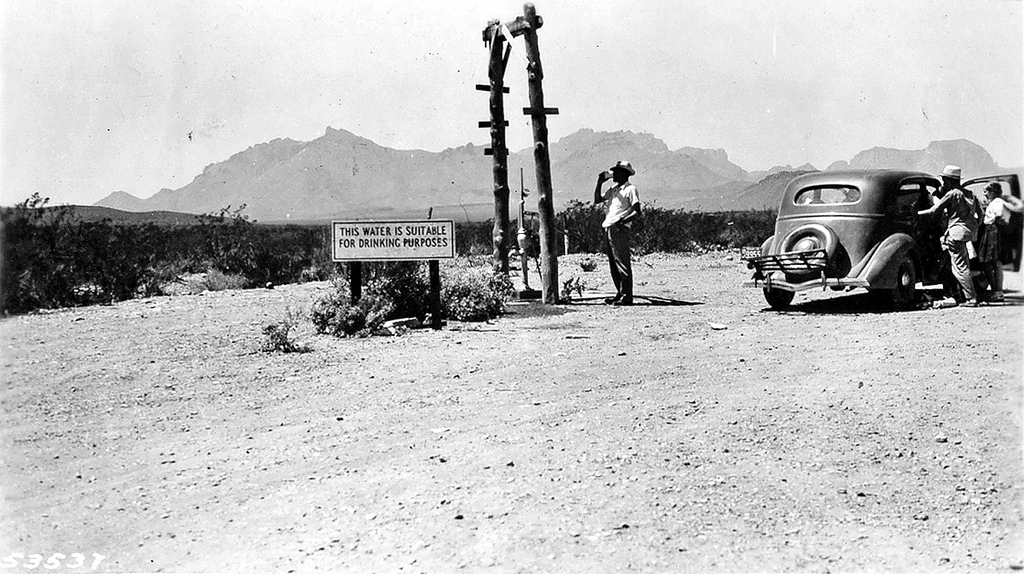 Historical overview visitbigbend guides for the big for Big bend motor lodge study butte tx