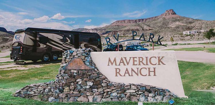 Maverick ranch rv park visit big bend guides for the for Big bend motor lodge study butte tx
