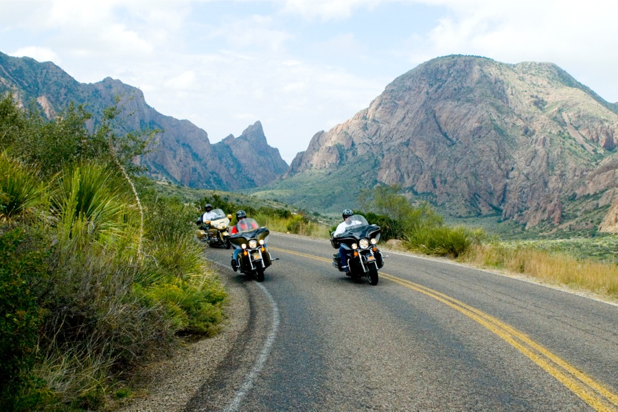 Motorcycles visit big bend guides for the big bend for Big bend motor lodge study butte tx