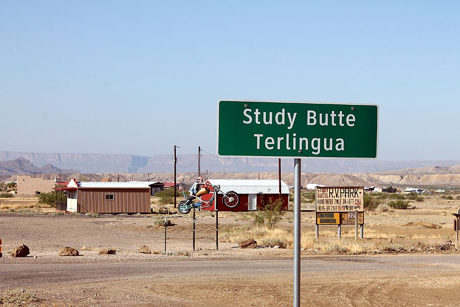 Study Butte Food