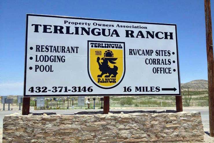 Terlingua Ranch Area Food