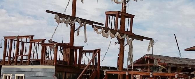 Terlingua Oddities: Ships in the Desert?