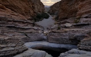 Four Wheel Drive access hikes: Ernst Tinaja Trail