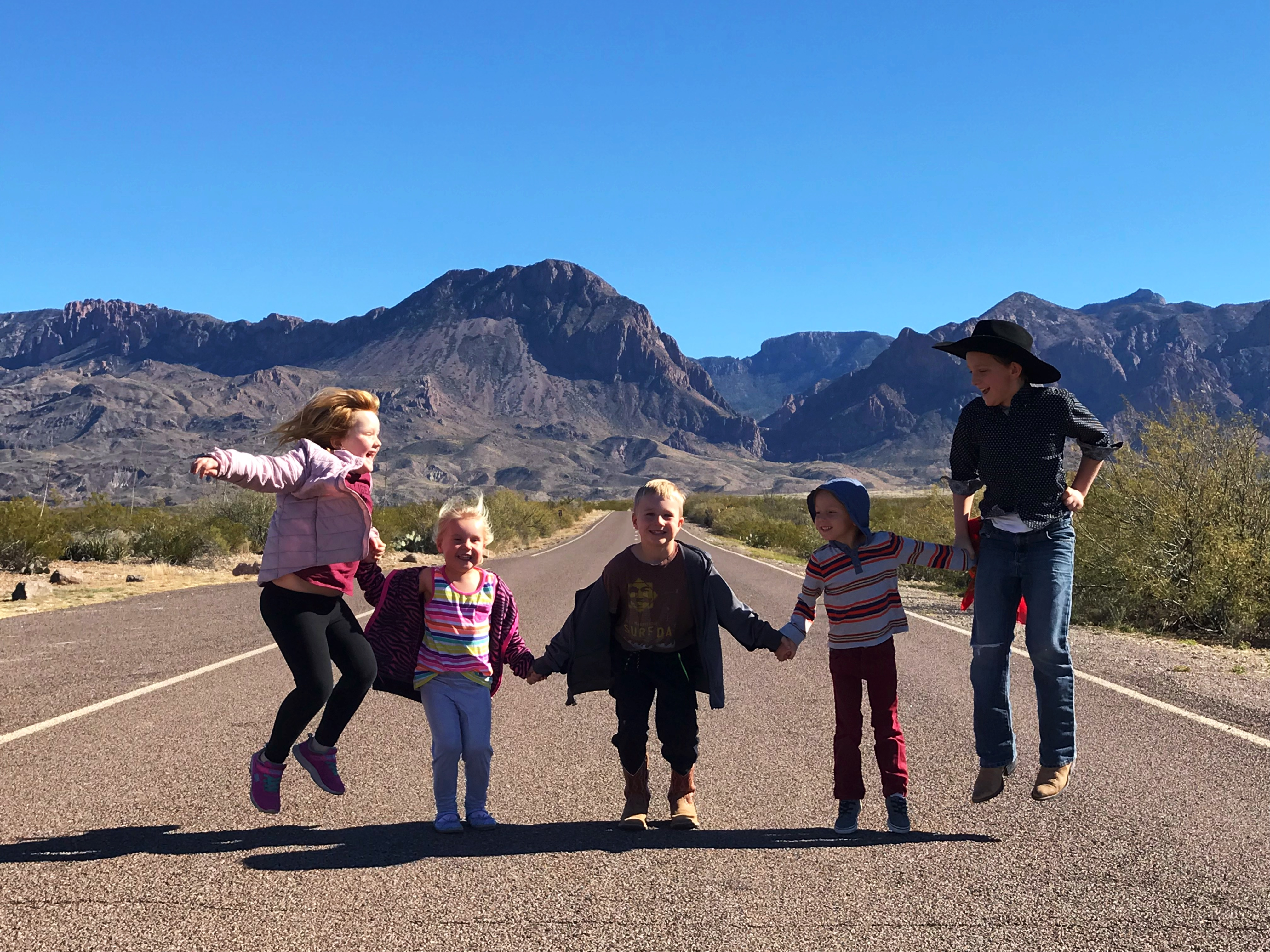 Big Bend With Children